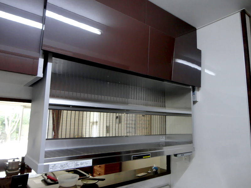 電動昇降食器乾燥機