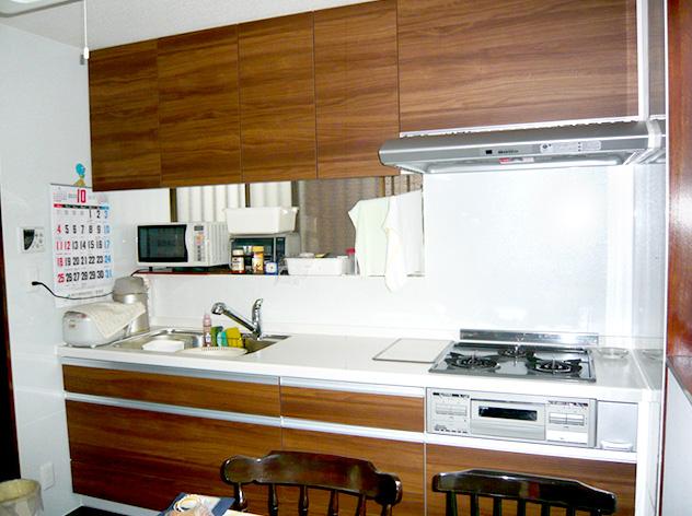 システムキッチンの入れ替えで、オシャレにイメージチェンジ!