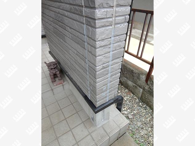 柱の引き抜け防止補強(サイディング壁)
