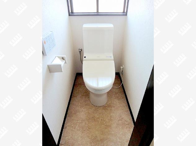 新型の節水トイレに