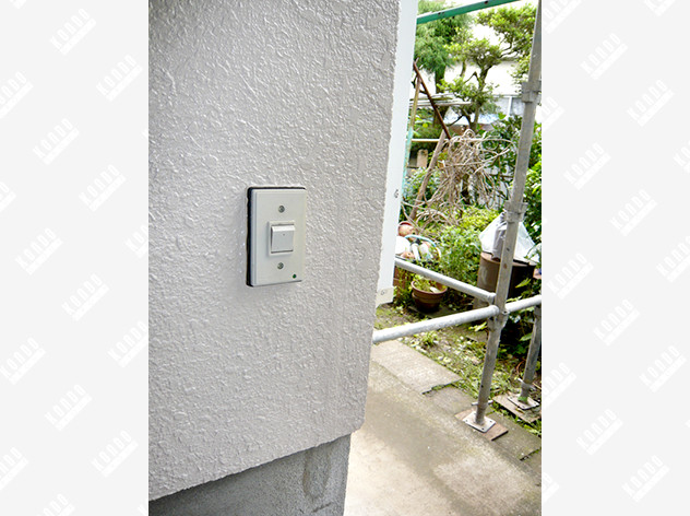 O様邸 柱の引き抜け防止補強(モルタル壁)