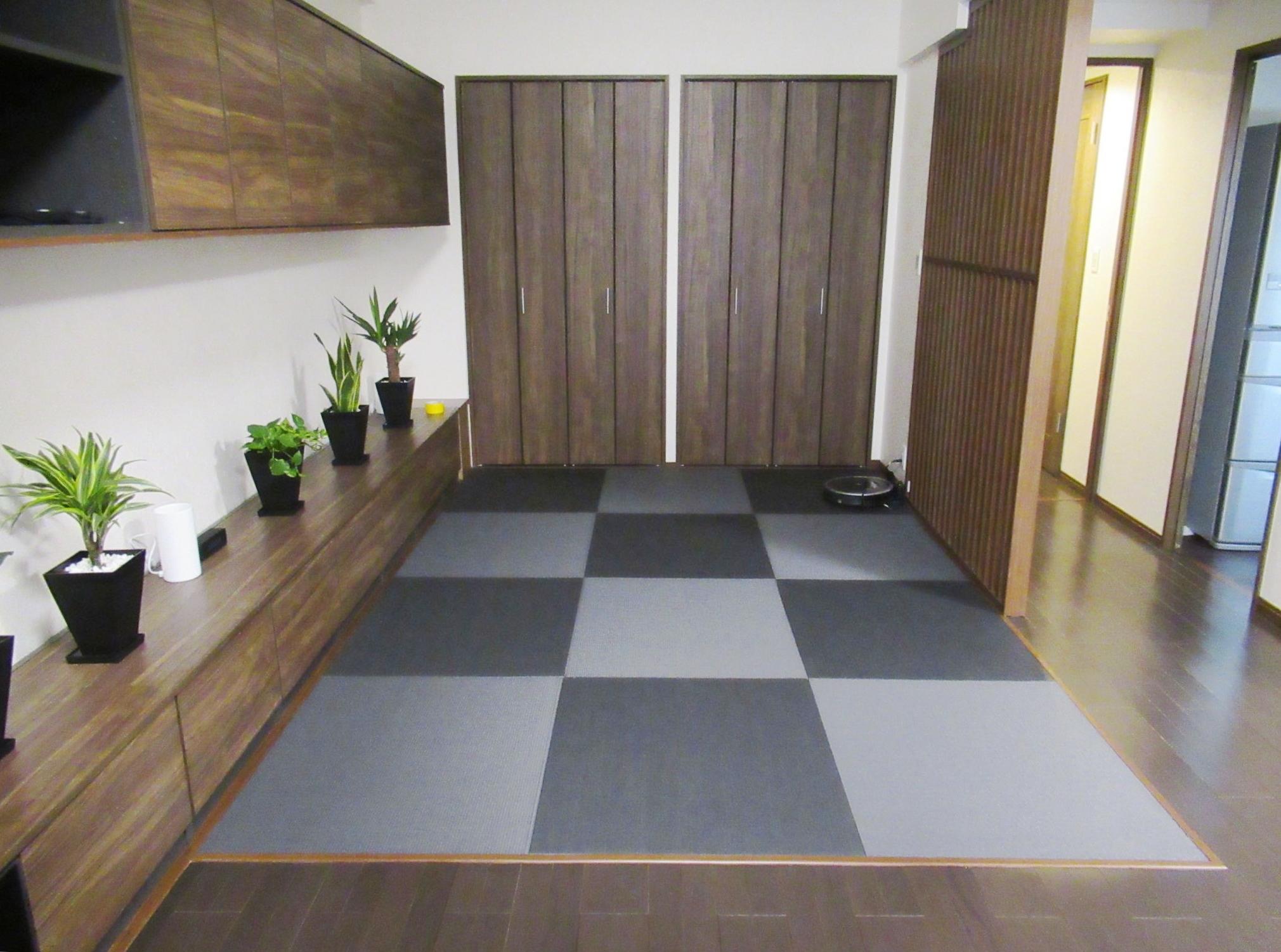 リビング 畳スペース
