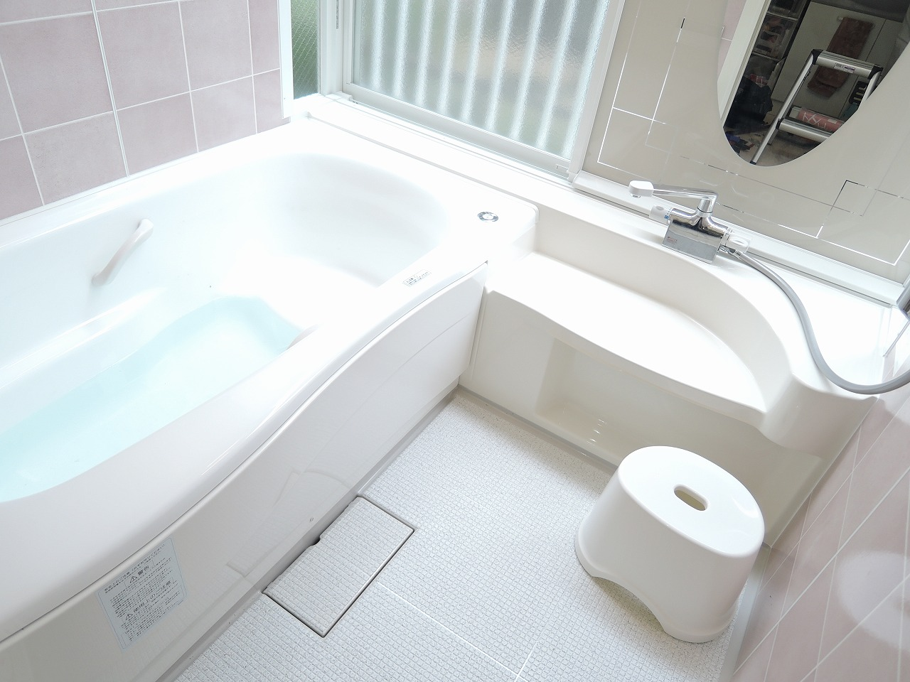 0.75坪のお風呂を1坪サイズの空間に